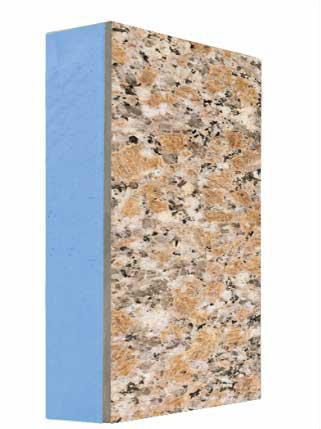 水包水仿石材岩棉一体板