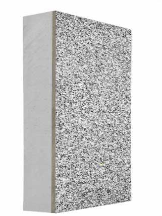 真石漆岩棉保温一体板
